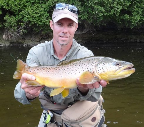 Head Guide Graham From Trout and Steelhead .net
