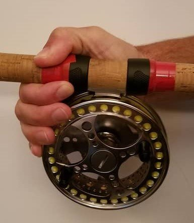 How to hold and centerpin reel