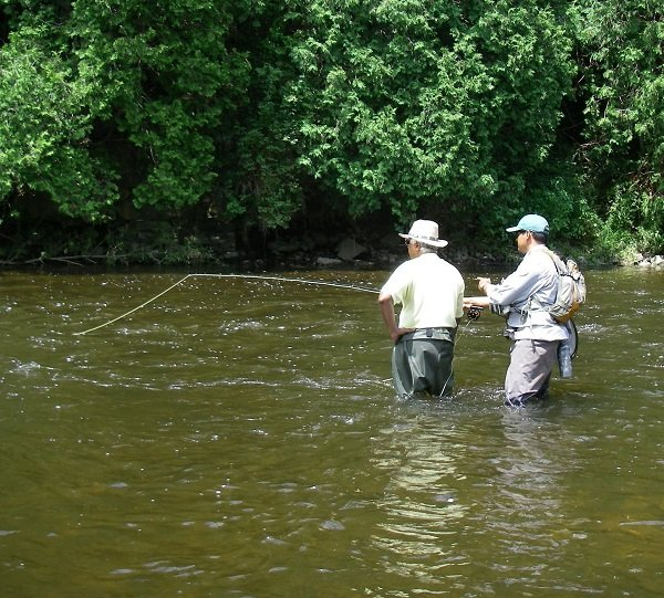 Learn Fly Fishing From A Mentor