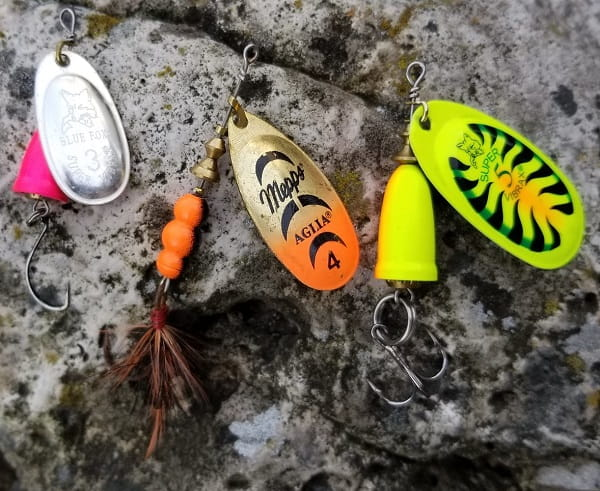 The best lure for steelhead is the spinner