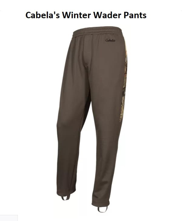 Cold Weather Wader Pants