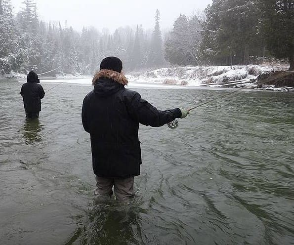 Fishing Trout In The Winter Can Be Good