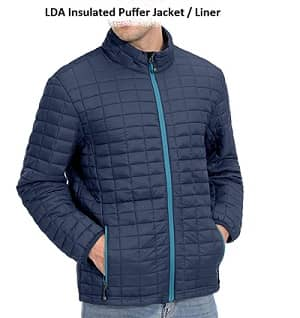 LDA Quilted puffy Jacket