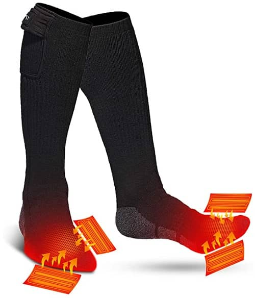 Heated Socks for winter fishing