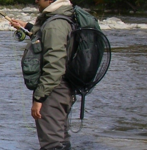 Hooking Up A trout Net Properly