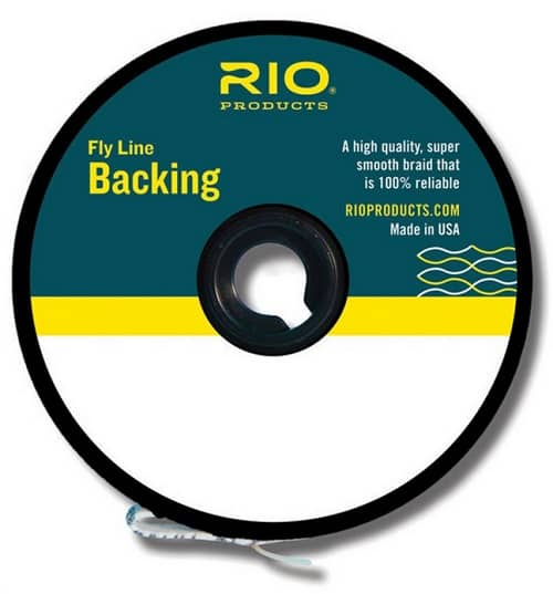 Rio Fly Line backing is a must on your reel