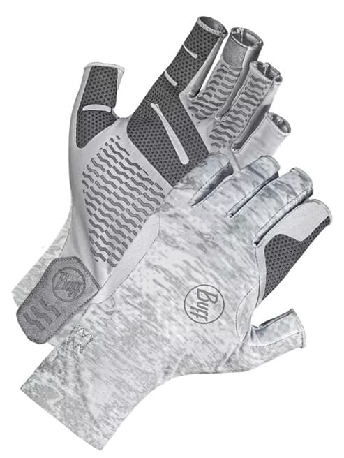 Sun Gloves for fishing on rivers is a good idea.
