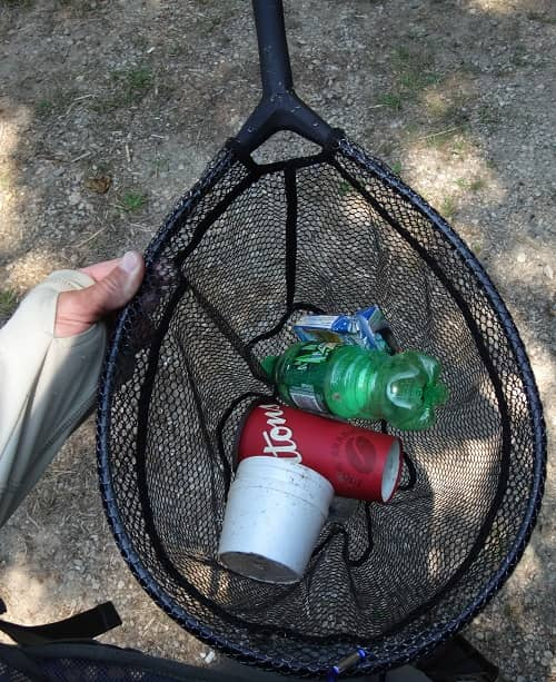 Trout Nets For Collecting Garbage