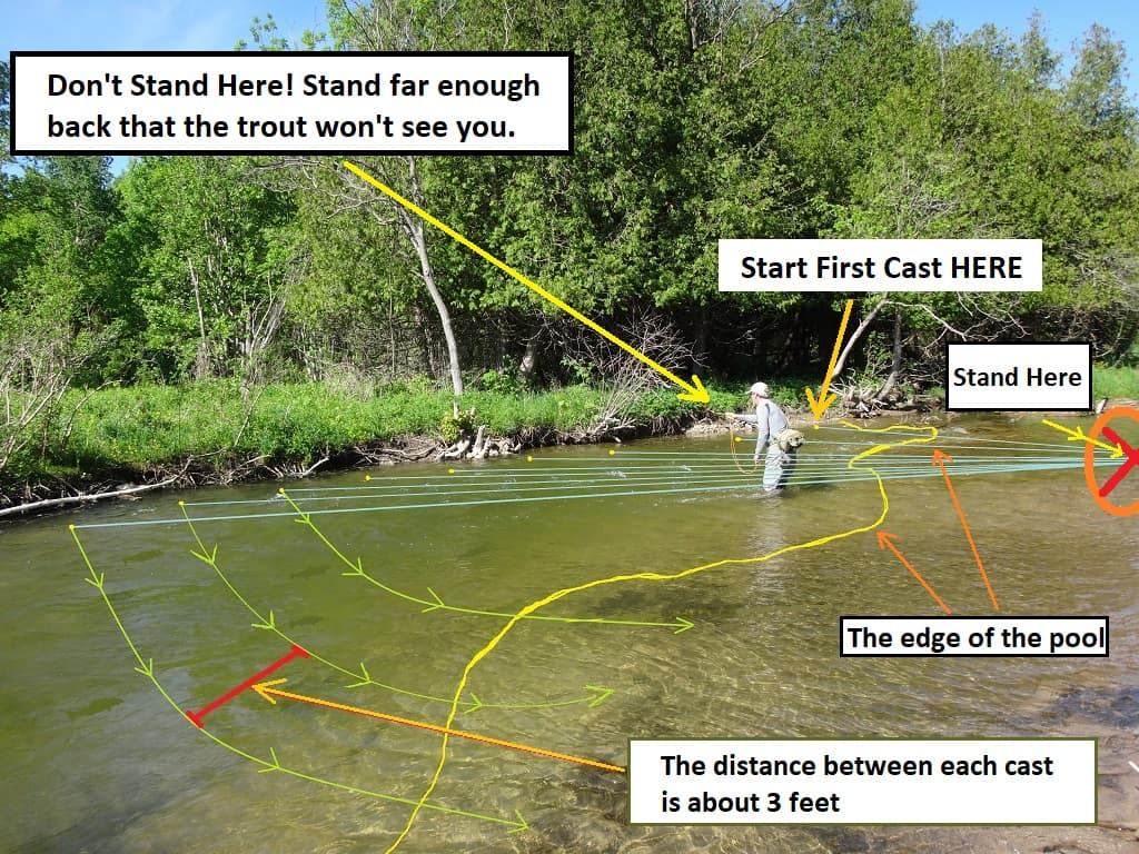 Fishing For Trout With Lures - Cover The Water