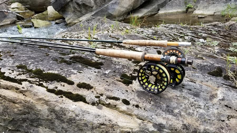 Rods are a part of river fishing gear