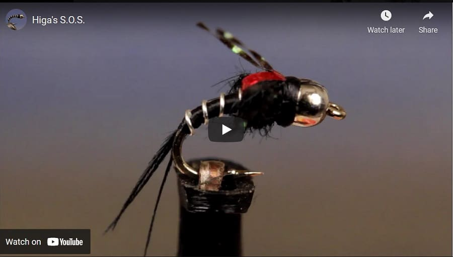 This Higa's SOS fly is a great spring trout flies
