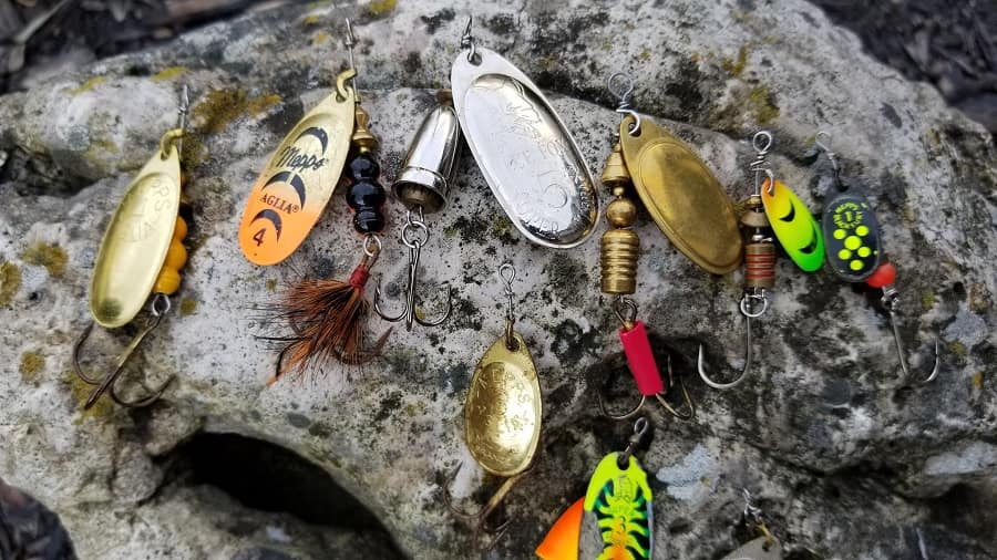 spinners for trout