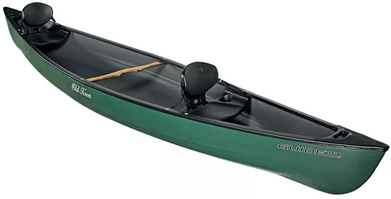 Canoes like this one can make good fly fishing boats