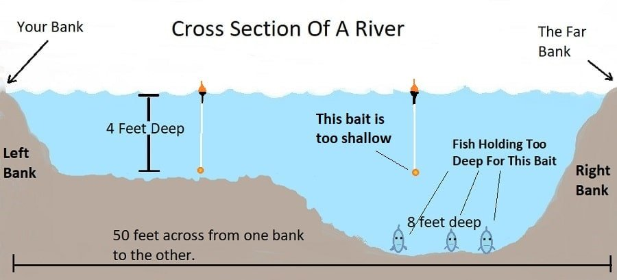 Cross Section of a river