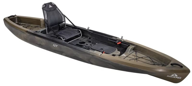 Kayaks like the Ascend 12T make good fly fishing boats