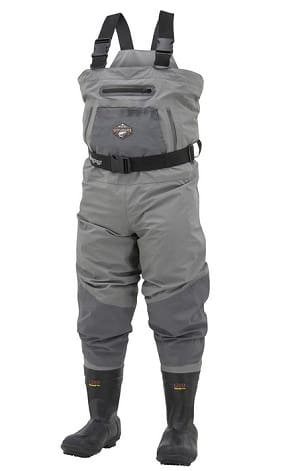 The Frogg Toggs Steelheader Waders are one of the best waders for winter fishing