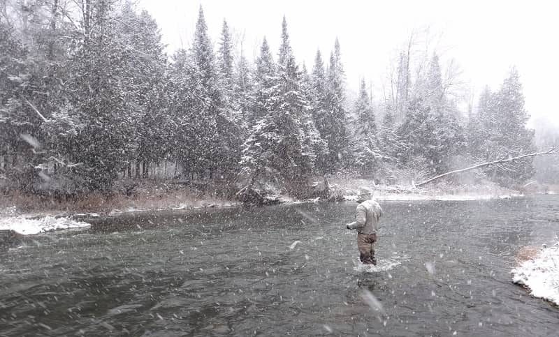 Best waders for winter fishing are boot foot waders