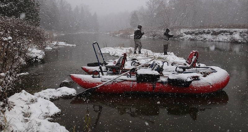 Breathable wader are the best waders for winter fishing