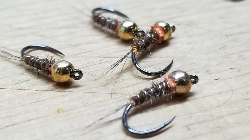 Nymphs to use when fly fishing nymphs