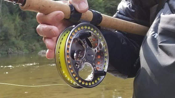 The Raven Matrix fully ported reel is a great reel.