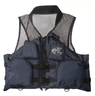 Deluxe Mesh Fishing Life Vest for Adults