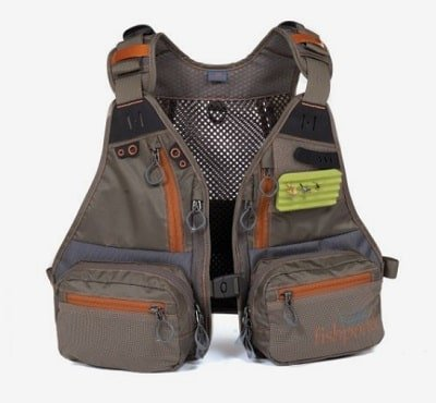 This FishPond Tender Foot fishing vest is the best fishing vest for kids.