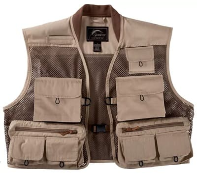 The White River Aventur1 is one of the best standard fishing vests you can buy